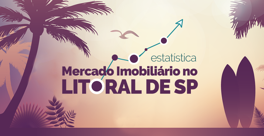 mercado imobiliário no litoral de SP